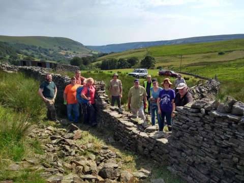 Drystone walling Valleys