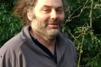 Gwent Wildlife Trust's Woodland Conservation Officer Doug Lloyd