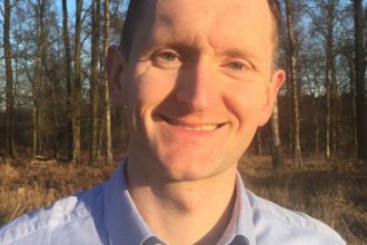 Gwent Wildlife Trust Chief Executive Adam Taylor