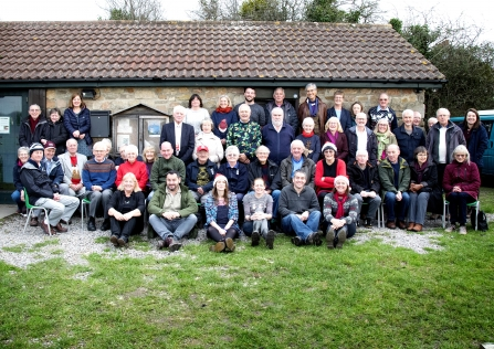 Magor Marsh staff and volunteers