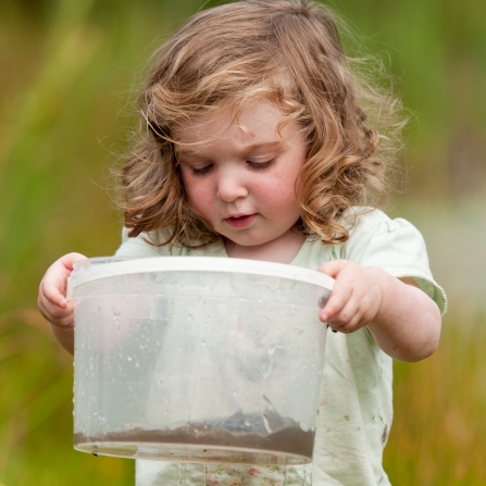Toddler Pond Dipping, Ross Hoddinott/2020VISION
